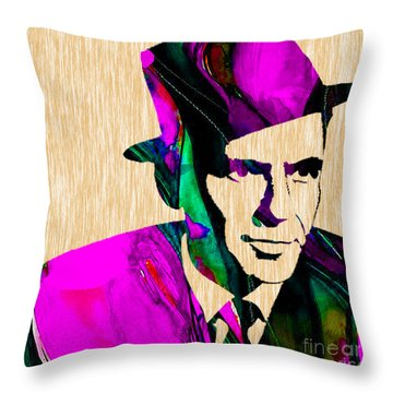 Frank Sinatra Throw Pillow