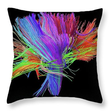 Nervous System Throw Pillows