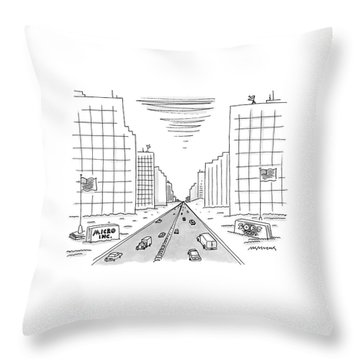 New Yorker May 15th, 2000 Throw Pillow