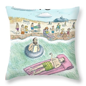 New Yorker August 7th, 2006 Throw Pillow