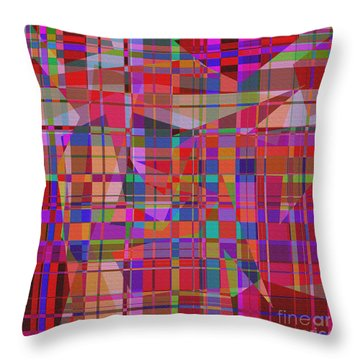 1131 Abstract Thought Throw Pillow