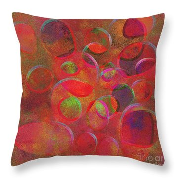1153 Abstract Thought Throw Pillow