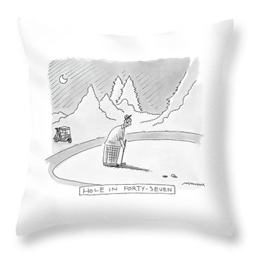 New Yorker August 21st, 2000 Throw Pillow