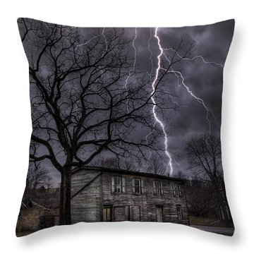 12-21-12 Throw Pillow by Lori Deiter