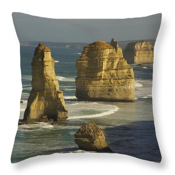 12 Apostles #4 Throw Pillow