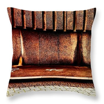 Urban Wall B Throw Pillow