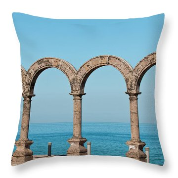 Angel Of Peace Throw Pillows