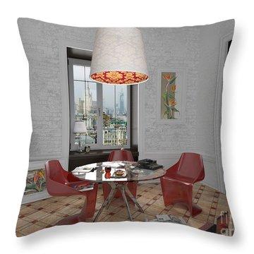 My Art In The Interior Decoration - Elena Yakubovich Throw Pillow by Elena Yakubovich