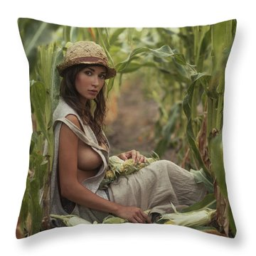 Grow Throw Pillows