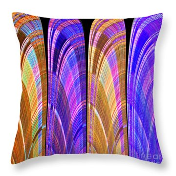 1260 Abstract Thought Throw Pillow
