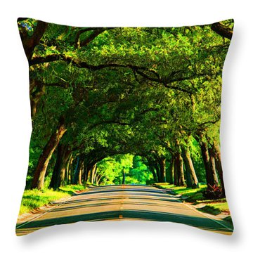 12th Avenue Throw Pillow