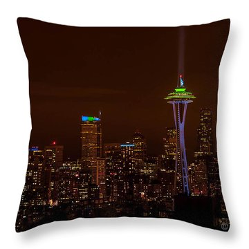 12th Man Light Throw Pillow