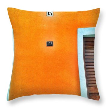 13-105 Throw Pillow by Olivier Calas