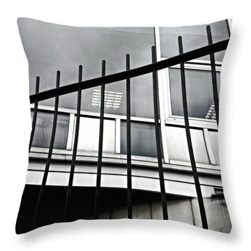 Windows Throw Pillow by Jason Michael Roust