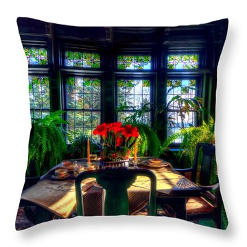 Glensheen Mansion Duluth Throw Pillow