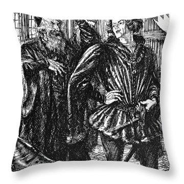Shakespeare Henry Iv Throw Pillow