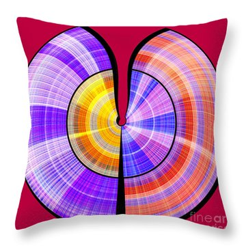1330 Abstract Thought Throw Pillow