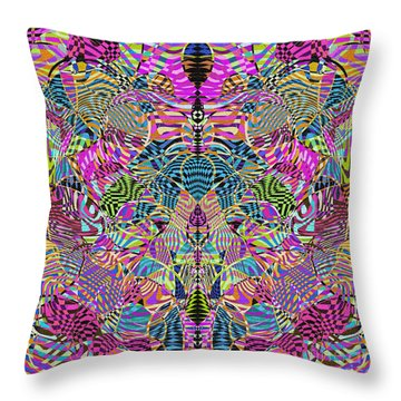 1332 Abstract Thought Throw Pillow