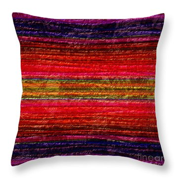 1342 Abstract Thought Throw Pillow