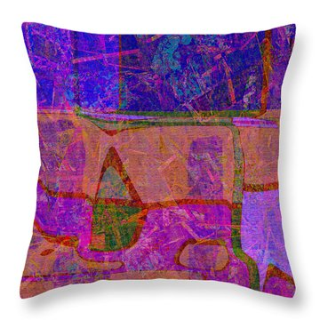 1381 Abstract Thought Throw Pillow