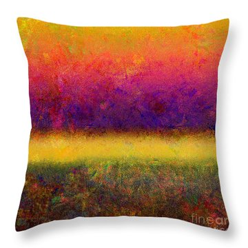 1395 Abstract Thought Throw Pillow