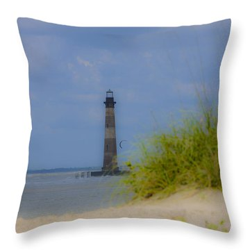 Wood View Throw Pillow