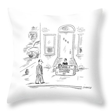New Yorker May 30th, 2005 Throw Pillow