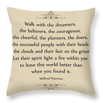 140- Wilfred Peterson Throw Pillow