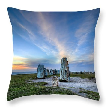 1414 Years Later Throw Pillow