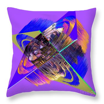 1422 Abstract Thought Throw Pillow by Chowdary V Arikatla
