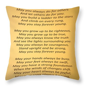 148- Bob Dylan Throw Pillow