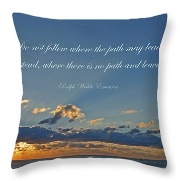 149- Ralph Waldo Emerson Throw Pillow