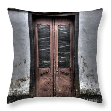 Throw Pillow featuring the photograph Architecture Soa Miguel Azores by Joseph Amaral