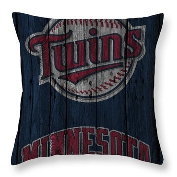 Minnesota Twins Throw Pillow