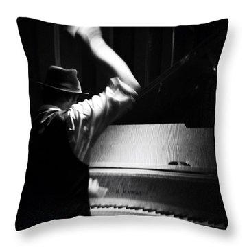 The Hot Sardines Throw Pillow