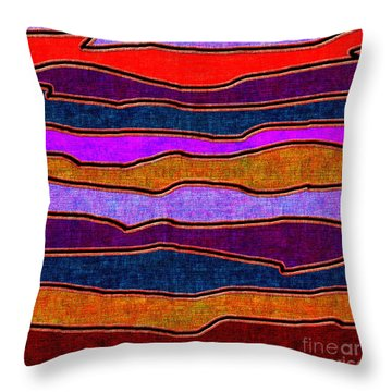 1536 Abstract Thought Throw Pillow