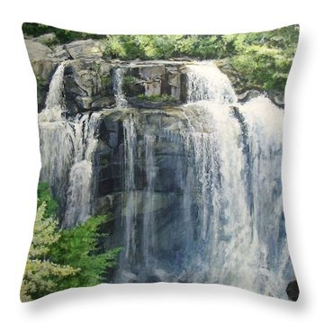 155 Steps Throw Pillow