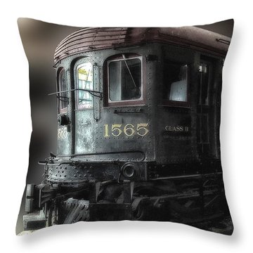 1565 Class B Irm Throw Pillow by Thomas Woolworth