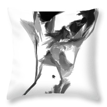 Abstract Series II Throw Pillow