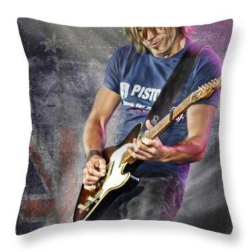 Keith Urban Throw Pillow
