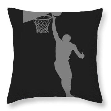 Nba Shadow Player Throw Pillow