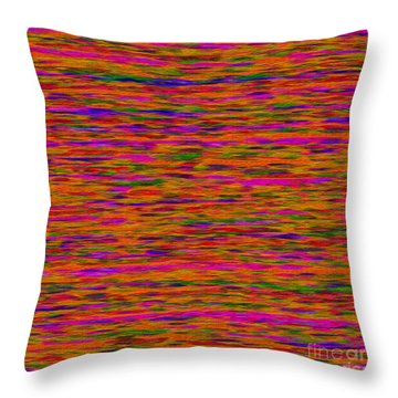 1614 Abstract Thought Throw Pillow