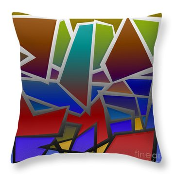 1624 Abstract Thought Throw Pillow