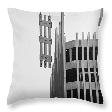#169 Raising Steel Throw Pillow
