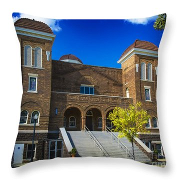 16th Street Baptist Church Throw Pillow