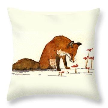 Watching Throw Pillows