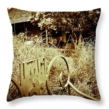 1714 Throw Pillow