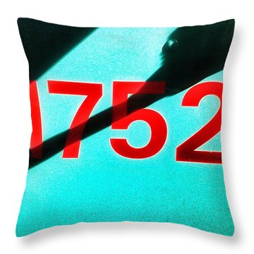 1752 Throw Pillow by Olivier Calas