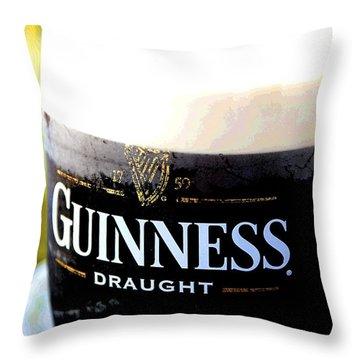 1759 Pint Throw Pillow