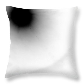 Throw Pillow featuring the photograph 18 8 Stainless 4 by Steven Macanka